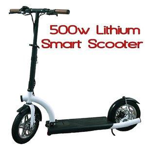 Amazon.com: Marca nuevo. 2016 Smart Urban 500 Watt Scooter ...