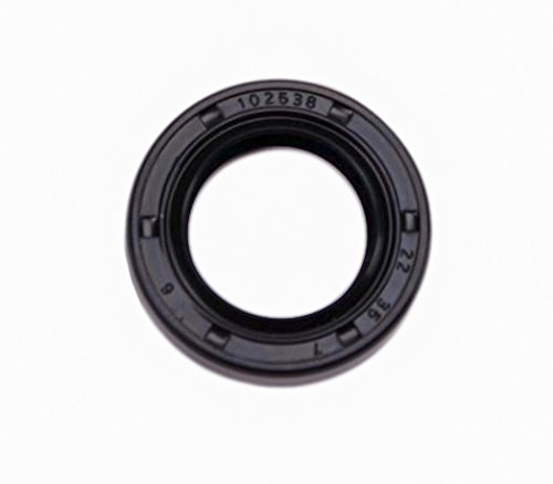 EAI Oil Seal 22mm X 35mm X 7mm TC Double Lip w//Spring Metal Case w//Nitrile Rubber Coating