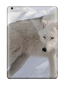 Fashion Tpu Case For Ipad Air- Arctic Wolf Defender Case Cover wangjiang maoyi