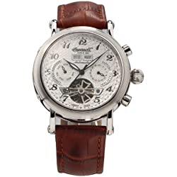 Ingersoll Men's IN4510WH Victory Column Analog Display Automatic Self Wind Brown Watch