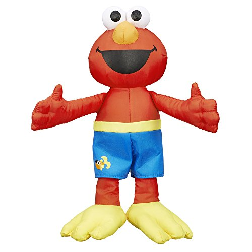 Sesame Street Bath Time Elmo: Elmo Bath Time Toy for Toddlers, Cute Swim Trunks...