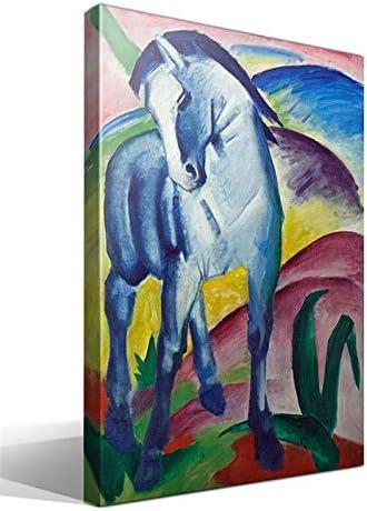 Cuadro Canvas Caballo Azul I de Franz Marc