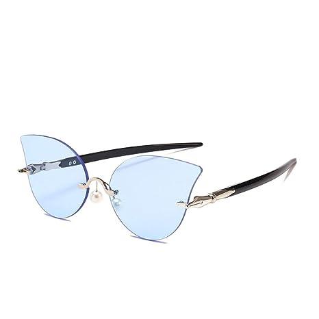 Yangjing-hl Gafas de Sol de Ojo de Gato Gafas de película ...