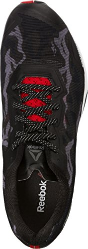 Reebok Crosstrain Sprint 3 950 Herren Sneaker (Stealth Black/White/Riot Red/Coal)