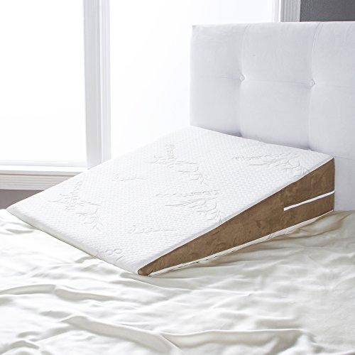 King Size Wide Bed - Avana Slant Bed Wedge Memory Foam Pillow, King