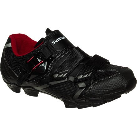 Shimano 2014 Men's Off-Road Sport Cycling Wide Shoes - SH-M088LE (Black - 45 Wide)