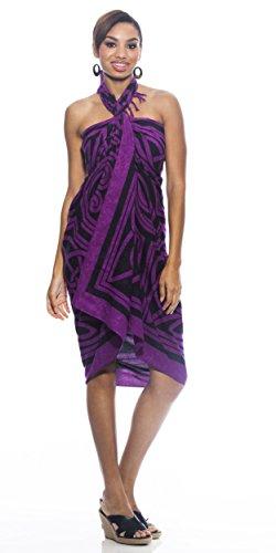 1WorldSarong - Camisola - para mujer Púrpura Real