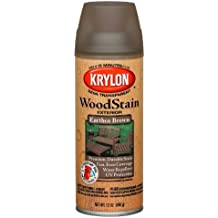 Krylon K03607000 Wood Stain Earthen Brown Spray Stain