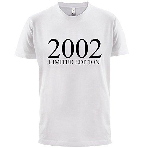 2002 Limierte Auflage / Limited Edition - 15. Geburtstag - Herren T-Shirt - Weiß - XXXL