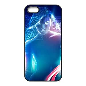 Blue cool sexy lady fashion phone case for iPhone 5s wangjiang maoyi by lolosakes