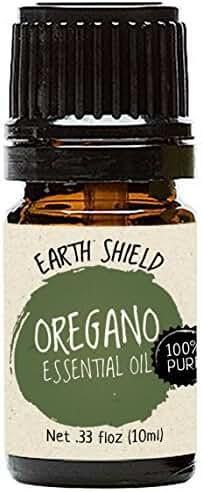 Earth Shield Oregano Essential Oil is 100% Pure and Therapeutic Grade - 10ml