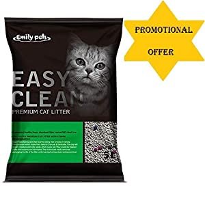 SRI Emily Pets Fresh Scented Bentonite Cat Litter (Apple, 5 L)