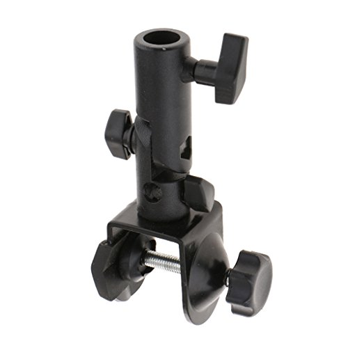 MagiDeal Photo Studio C Type Clamp Clip Bracket For Flash/Light Stand Boom Arm Pole by Unknown