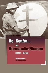 Book's Cover ofDe Koufra au Normandie-Niemen