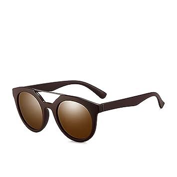 QZHE Gafas de sol Puente Doble con Gafas De Sol Polarizadas ...