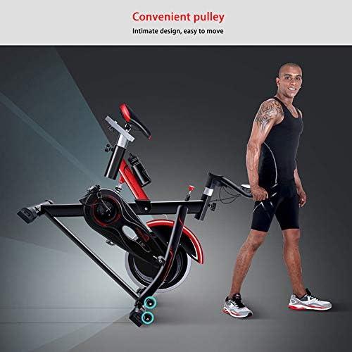 LMZZGAOYANQING Equipo de Ejercicio Mute Spinning Bicycle Máquina de Entrenamiento elíptico, Máquina de Entrenamiento Cardiovascular para Adelgazar Pedal de casa Bicicleta Deportiva: Amazon.es: Deportes y aire libre