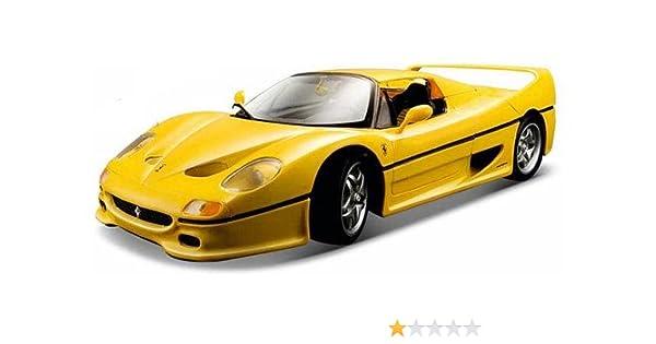 Amazon Ferrari F50 118 Scale Yellow Toys Games