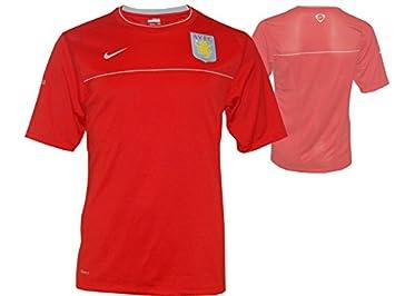 Nike Aston Villa Training Jersey Camiseta AVFC Camiseta: Amazon.es: Deportes y aire libre