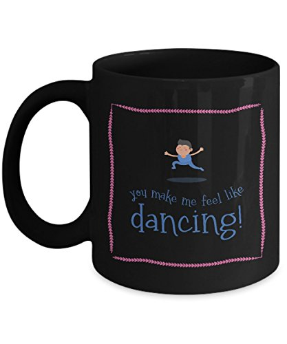 [Dancing Coffee Mug for Him, Anniversary Gifts for Boyfriend Girlfriend His & Hers, Valentines Gifts for Couples Wedding Anniversary, Gift Coffee Mugs Tea Cups] (Who Designs Dancing With Stars Costumes)