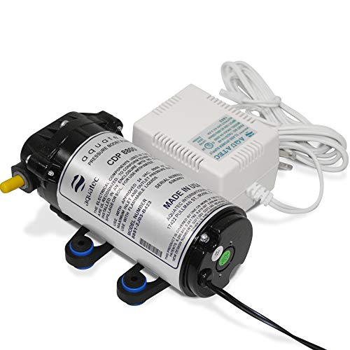 Aquatec CDP 8800 water booster pump + Transformer 115V 1/4 & - Ro Booster Series