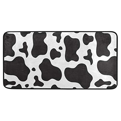 Cow Spots Print Kitchen Mat Anti Fatigue Runners Area Rug Pads 39