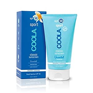 Coola Classic Sport SPF 45 Sunscreen, Unscented, 5 Ounce