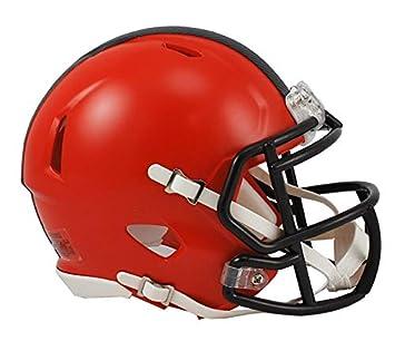 6005b0123f4 Riddell Cleveland Browns American Football NFL Speed Mini Helmet ...