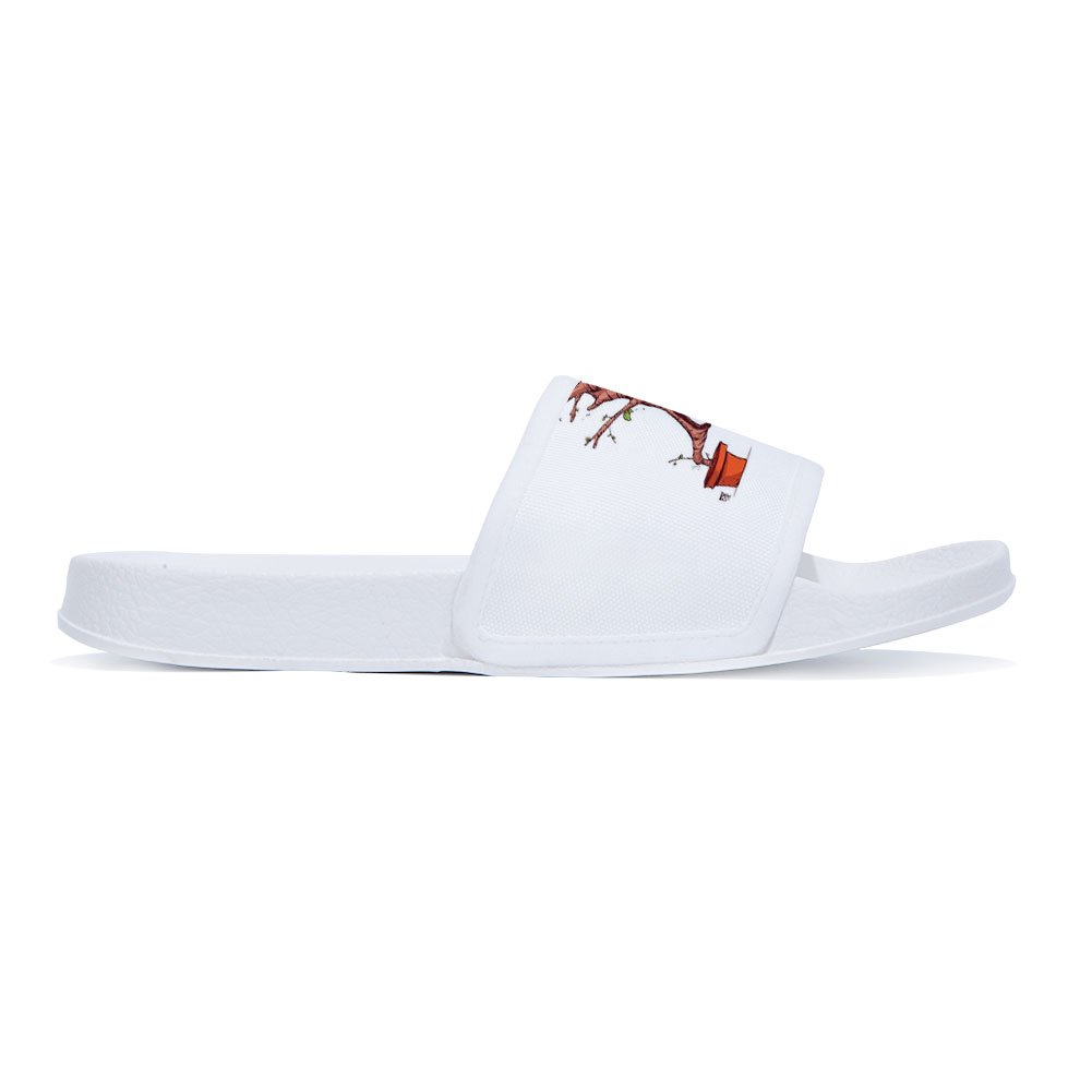 Wilbur Gold Slide Sandals for Boys Girls Fashion Outdoor Pool Swimming Indoor Home Bath Shower Slippers