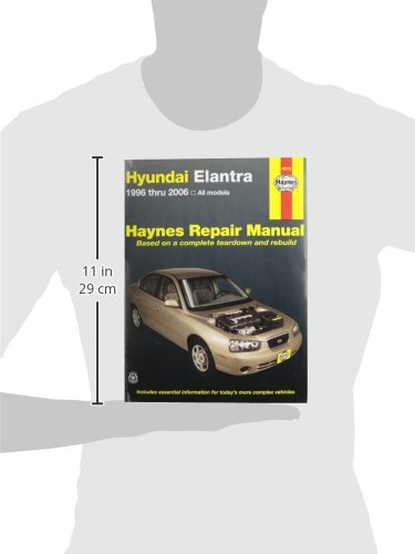 haynes hyundai elantra 96 10 repair manual 0038345430107 rh amazon com 2005 Hyundai Elantra Upper Control Arm Replace 2002 Hyundai Elantra Thermostat Housing