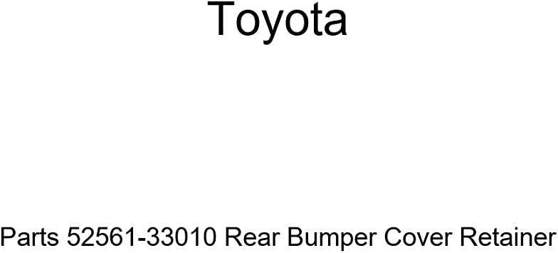 Genuine Toyota Parts 52561-33010 Rear Bumper Cover Retainer
