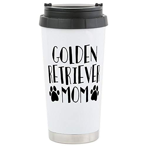(CafePress Golden Retriever Stainless Steel Travel Mug, Insulated 16 oz. Coffee)