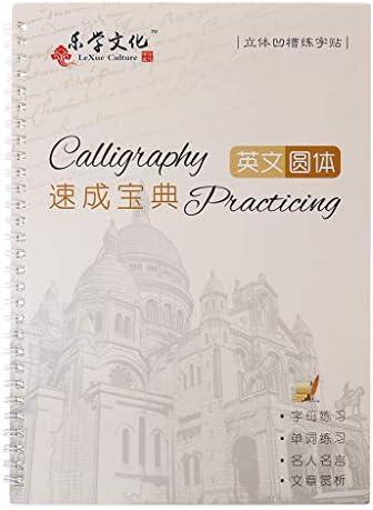 Kerhcusde Ein Kursivschrift-Englisch-Buch-Kalligraphie-Schreibheft-Erwachsen-Kinderübungs-Nut-Handschrifts-Praxis-Buch