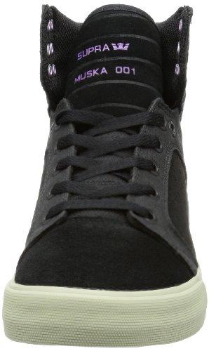 Supra SKYTOP S18203 Herren Sneaker Schwarz (BLACK / PURPLE - GREY BPL)
