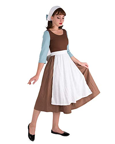 Peasant Lady Adult Costumes - Cosplay.fm Women's Cinders Rags Costume Maid