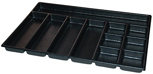 Kennedy Manufacturing 81928 ABS Divider with 2''-11'' Compartment for 29'' Cab, Black