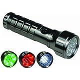 Technoline T9029S Metall-Taschenlampe titan