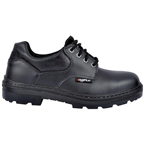 Cofra 25680–000.w44Small bis S3SRC calzature di sicurezza Taglia 44Nero