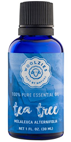 Woolzies 100% Pure Tea Tree Essential Oil, Antiseptic Theraputic Grade, 1 fl oz.