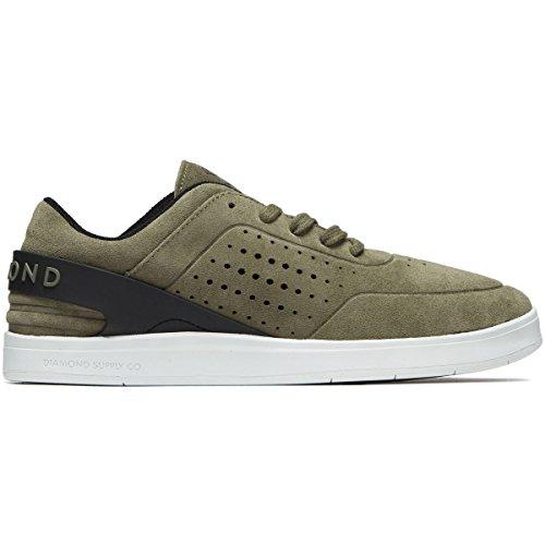 Zapatos De Grafito Diamond Supply Co. - Verde Oliva