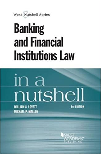 Banking and Financial Institutions Law in a Nutshell (Nutshells)