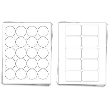 amazon com printable blank mason jar labels for 40 jars and lids