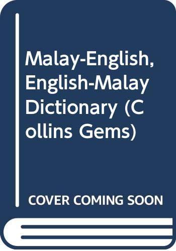 Collins Malay Gem Dictionary Bahasa Malaysia English English Bahasa Malaysia 9780004586588 Amazon Com Books