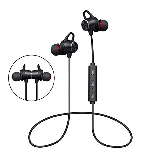 Stereo Bluetooth Headset Sport for Samsung Galaxy Black - 6