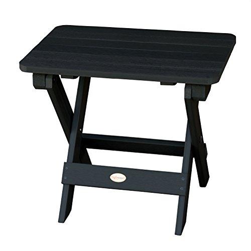 Highwood AD-TBS1-BKE Adirondack Side Table, Black