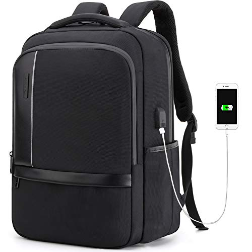 Business Laptop Backpack Water Resistant Anti-Theft Bag with USB Charging Port 14/15.6 Inch Computer Travel Backpacks for Women Men College School Student Gift,Bookbag Casual Hiking Daypack (Best Computer For Business Students)