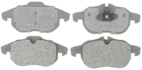 ACDelco 14D972M Advantage Semi-Metallic Front Disc Brake Pad Set
