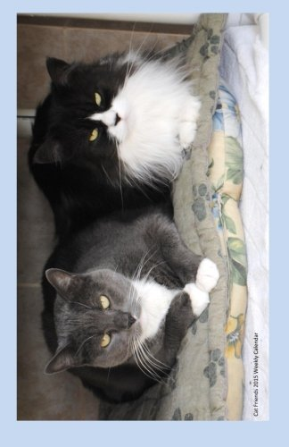 Cat Friends 2015 Weekly Calendar: 2015 weekly engagement calendar with a cover photo of two of the cats at Ralphie's Retreat - A pawsitive alternative ... feline leukemia. (Cats of Ralphie's Retreat) pdf epub