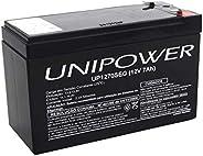 Bateria Para Nobreak Interna Selada 12V 7,0Ah Up1270Seg - Unipower