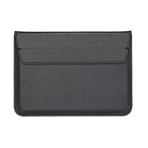 Black PU Leather Carrying Sleeve Breifcase Bag for HP Pro x2 612 G2 12 / Teclast Tbook X5 Pro 12.2 / Lenovo Miix 510 / Asus Transformer 3 Pro / Acer Aspire Switch 12 S 12 in Tablet (Black)