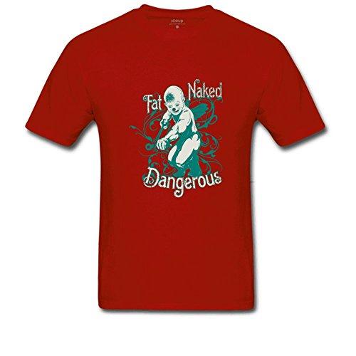 Dangerous Men's Beefy T Shirt XXL Red ()